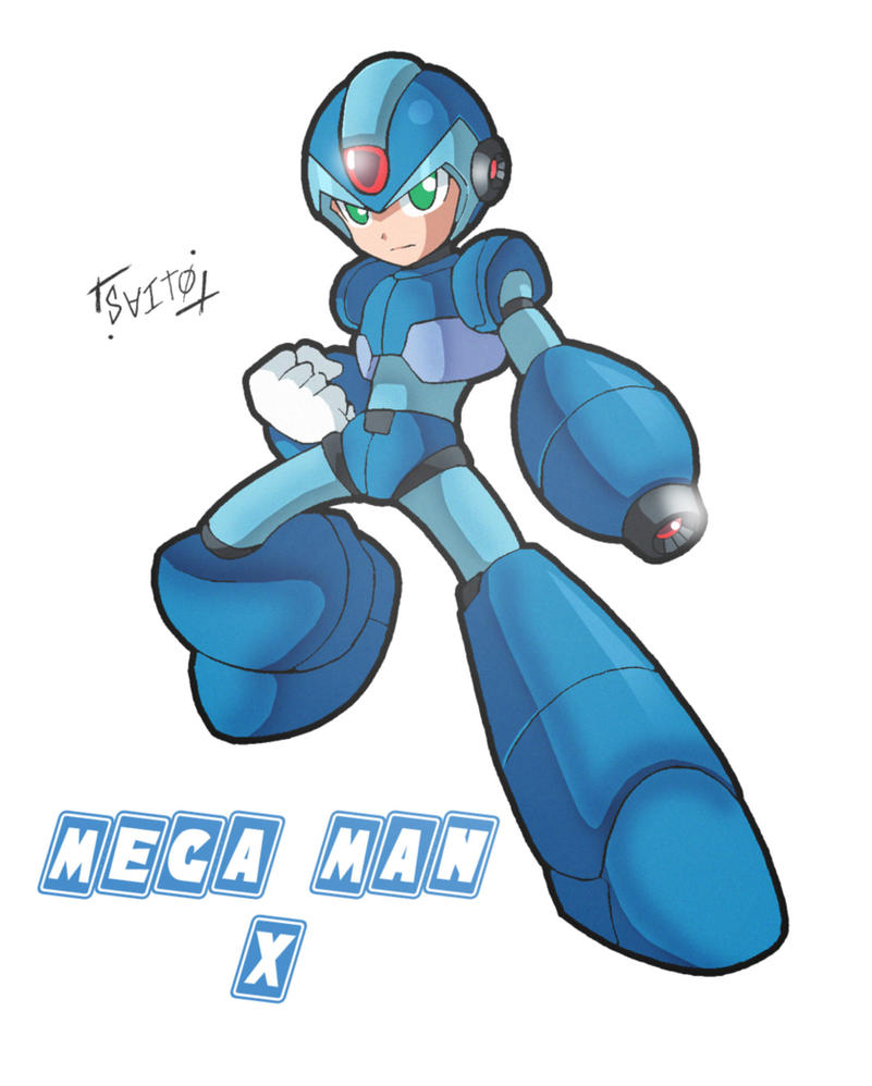 Mega Man X by Shoutaro-Saito