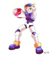 Mega Man X First Armor Ver.Zero by SaitoKun-EXE