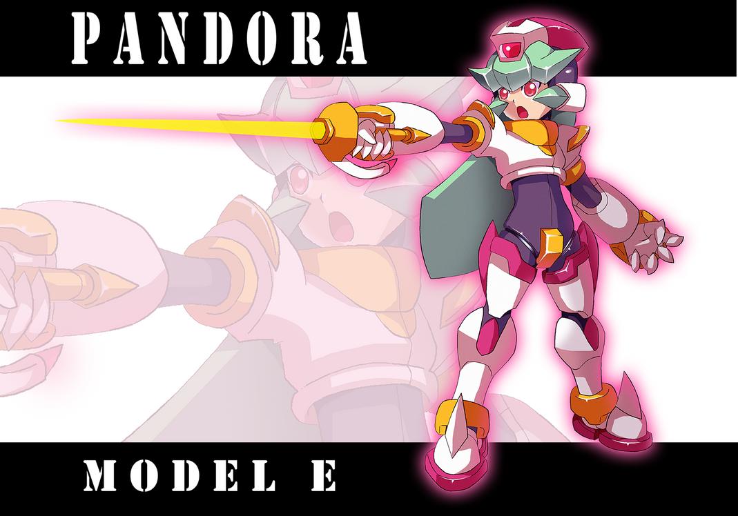 Commission: Pandora Model E by Shoutaro-Saito