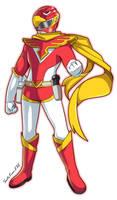 Commission: Jetman - Red Hawk