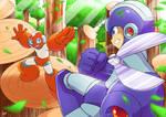 Mega Man VS Cut Man