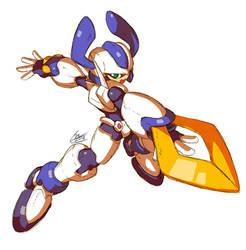 Mega Man Model KWG by SaitoKun-EXE