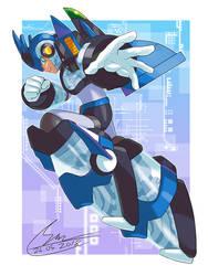 The White Ultimate Armor by SaitoKun-EXE