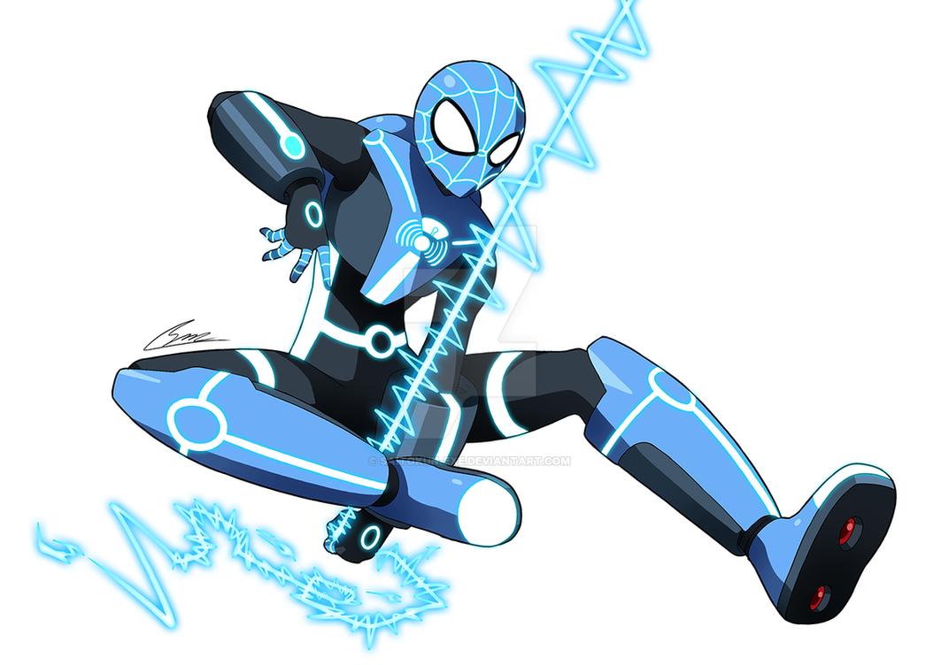 Commission: Spyder-Man by SaitoKun-EXE