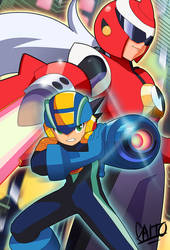 Battle Network Heroes by SaitoKun-EXE
