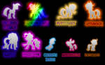 Mane 6 and the CMC