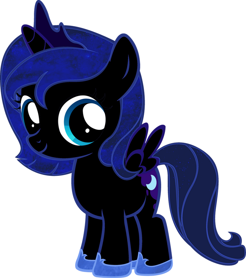 Nightmare moon coloring page - Nightmare Moon Filly By Bc Programming On Deviantart
