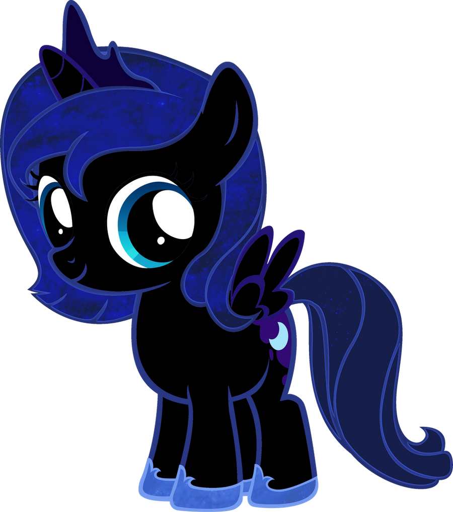 Nightmare Moon Filly By BC Programming On DeviantArt