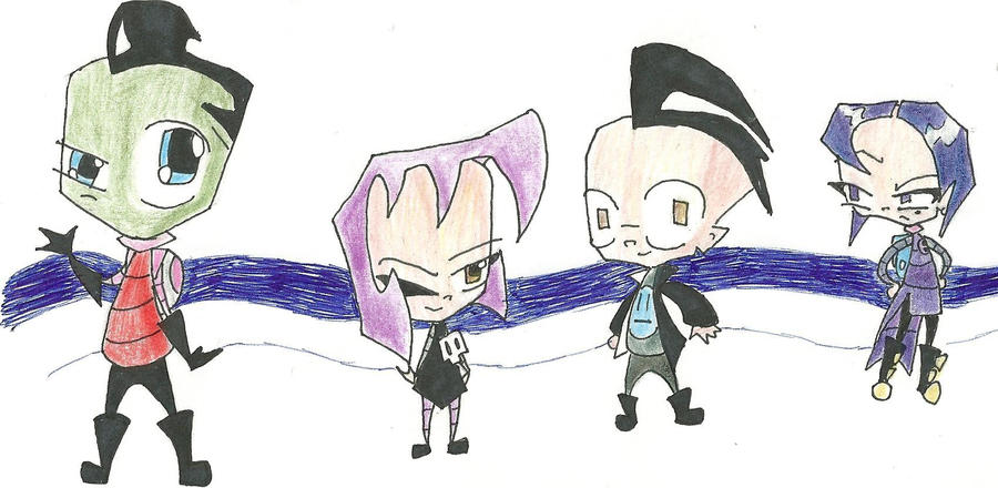 invader zim character by - photo #11