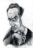 Vincent Price by OuthouseCartoons