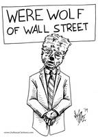 Werewolf of Wall Street by OuthouseCartoons