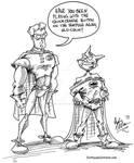 Robin and Batman