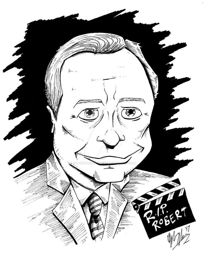 RIP Robert Osborne by OuthouseCartoons