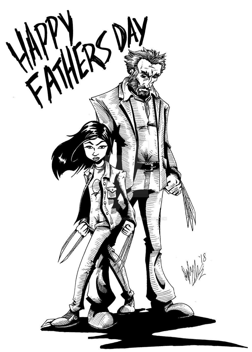 Fathers Day 2018 by OuthouseCartoons