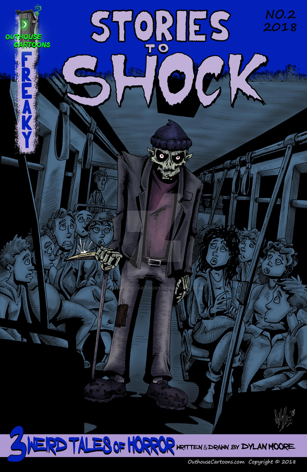 Stories to Shock #2 is out! by OuthouseCartoons