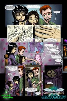 Combat Fairies #1 - Sample Page