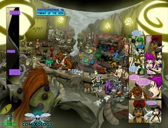 Combat Fairies #2 - Sample Page