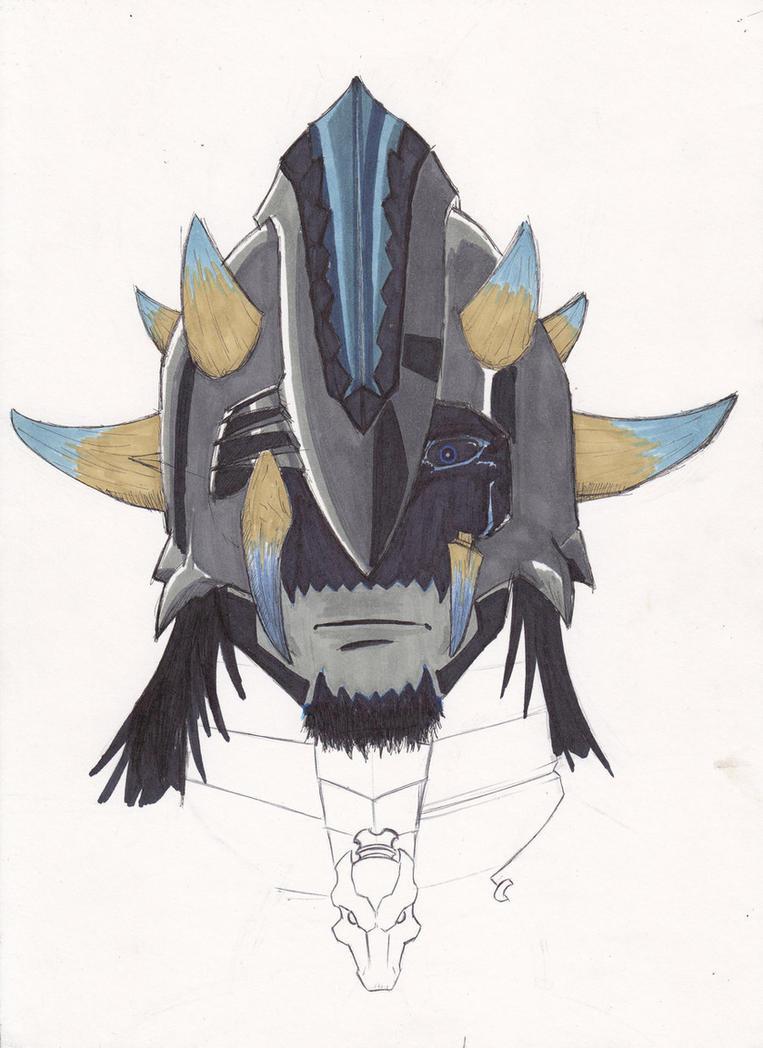 Helmet By Vilezull-d3epfqg by Vilezull