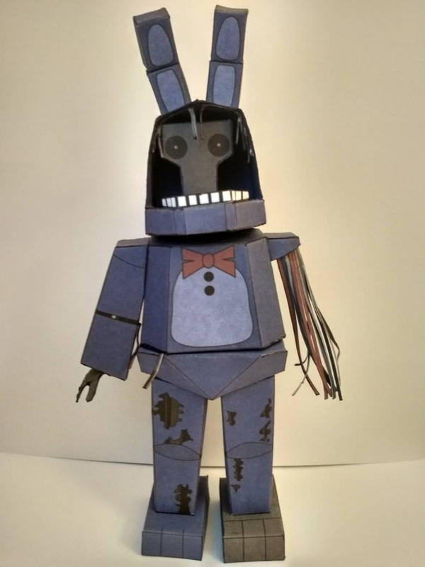 Withered Bonnie Papercraft by Neeliipl on DeviantArt