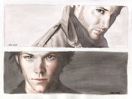 The Winchester Brothers by ihni