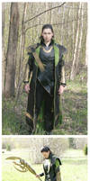 More pictures of the Loki costume