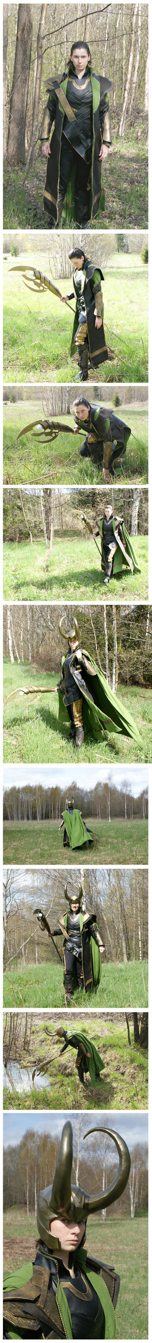 More pictures of the Loki costume by ihni