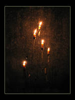 Candle light by TheRedRidingHood