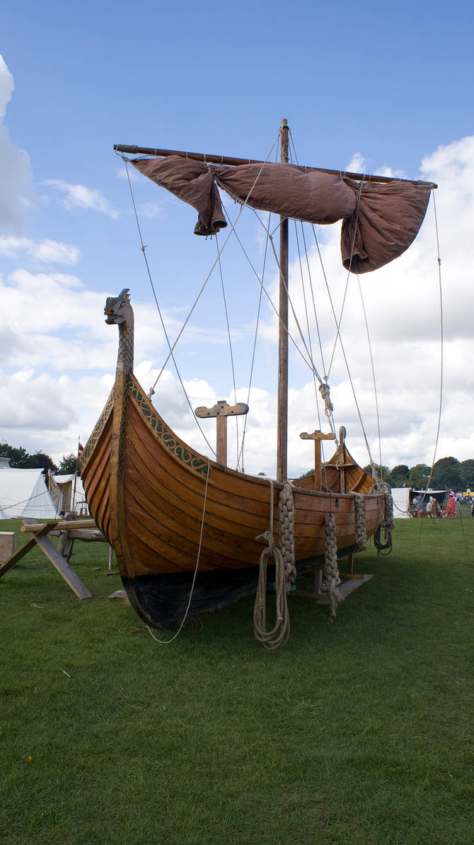 Long boat by wintersmagicstock