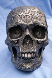 Celtic Skull by wintersmagicstock
