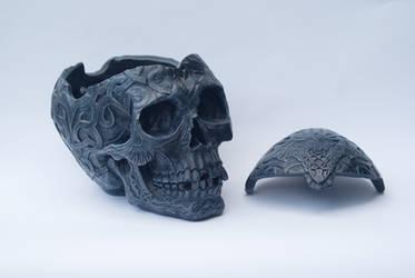 DSC06765 Treasure Skull 1 by wintersmagicstock