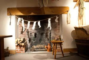 DSC08097  Fireplace by wintersmagicstock
