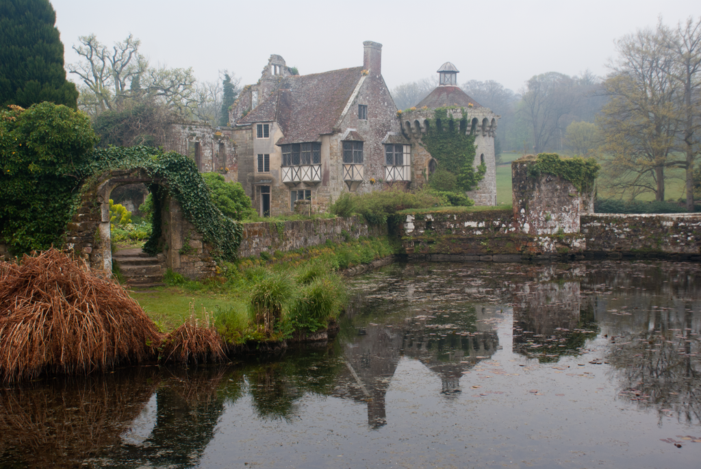 DSC09761 Scotney Castle by wintersmagicstock