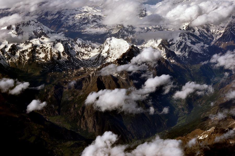 DSC 0481 Above The Alps by wintersmagicstock