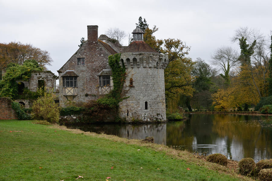 DSC 0084 Scotney Castle October by wintersmagicstock
