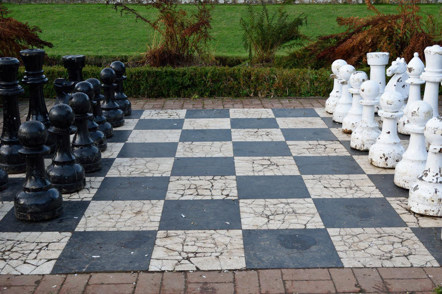 DSC 0117 Groombridge Place Chess by wintersmagicstock