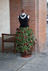 DSC 0277 Barcelona Style Festive Attire by wintersmagicstock