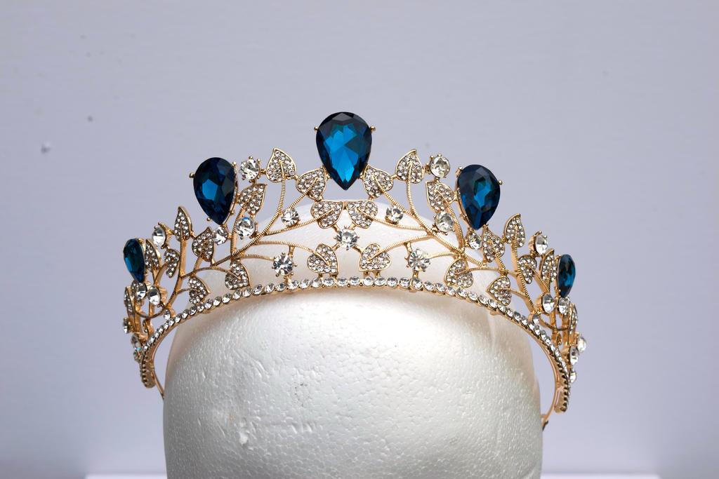DSC 0336 Sapphire and Diamond Tiara by wintersmagicstock