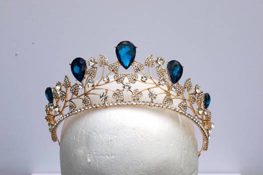 DSC 0336 Sapphire and Diamond Tiara