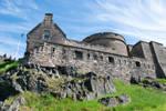 DSC 0234 Edinburgh Castle by wintersmagicstock