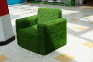 DSC 0238 Grass Armchair by wintersmagicstock