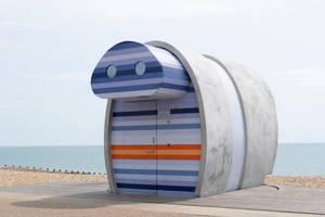 DSC 0231 Beach Hut by wintersmagicstock