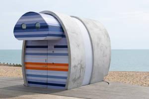 DSC 0230 Beach Hut by wintersmagicstock