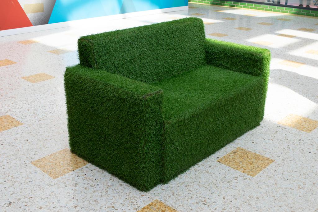 DSC 0228 Grass Settee by wintersmagicstock