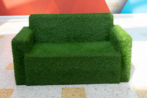 DSC 0227 Grass Settee 1 by wintersmagicstock