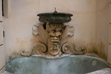 DSC 0726 Fountain by wintersmagicstock
