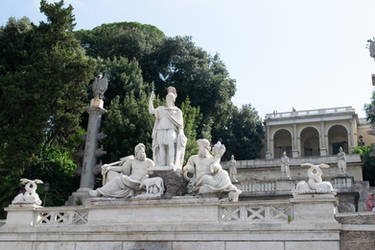 DSC 0456 Rome Between The Rivers Fountain 3 by wintersmagicstock