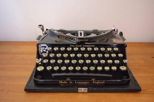 DSC 3257 The Good Companion Typewriter 1