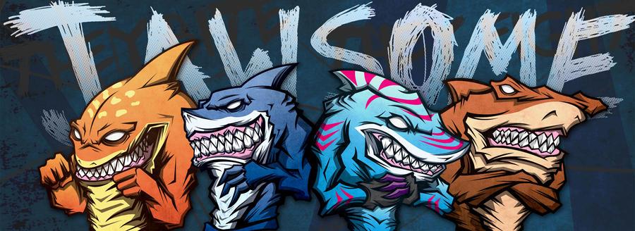 Street sharks wallpaper