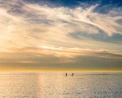 Paddle to the clouds by isotophoto