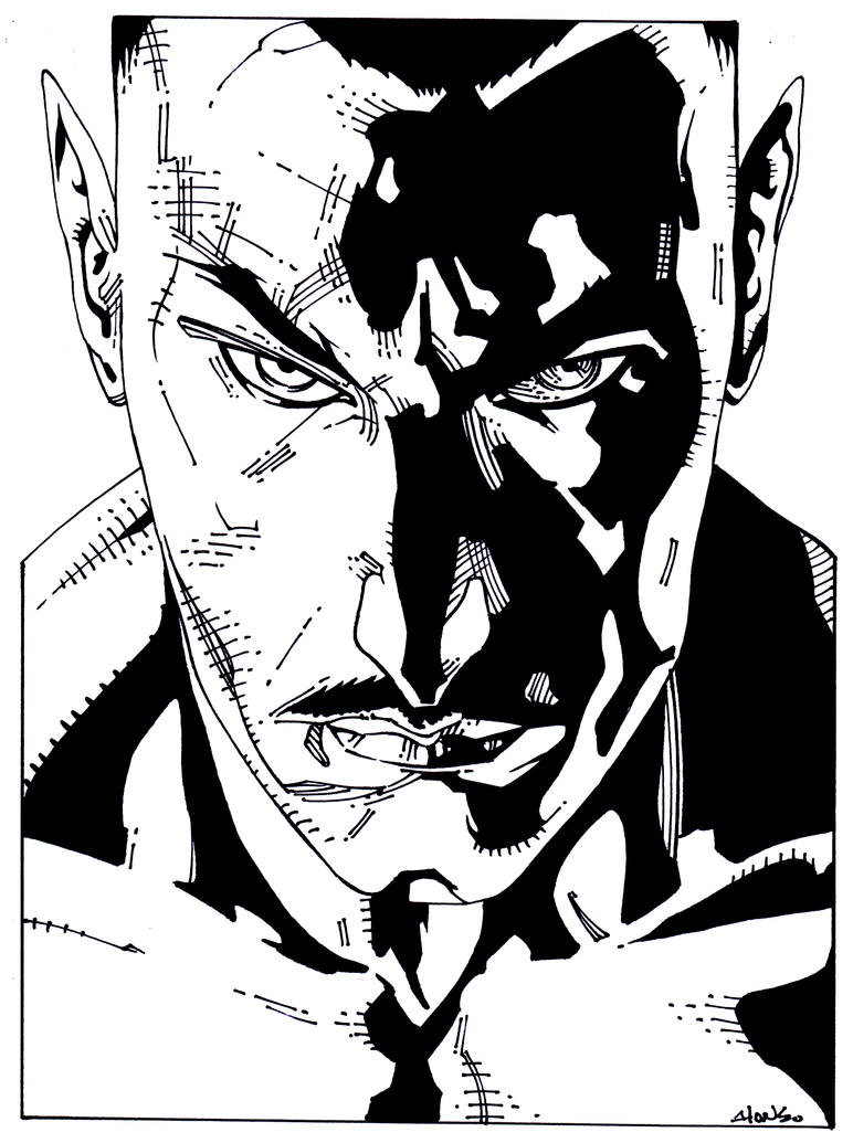 Sinestro by luisalonso